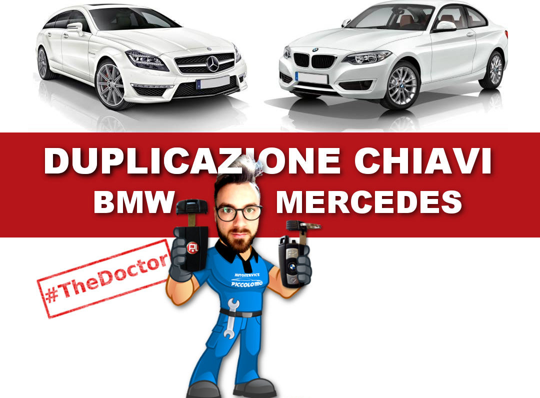 Duplicazione Chiavi Auto BMW e MERCEDES-BENZ