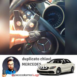 Duplicazione chiavi per i modelli Mercedes-Benz 2015