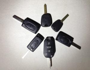 citroen-peugeot chiavi