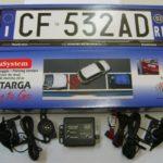 metasystem sr2 targa sensori di parcheggio