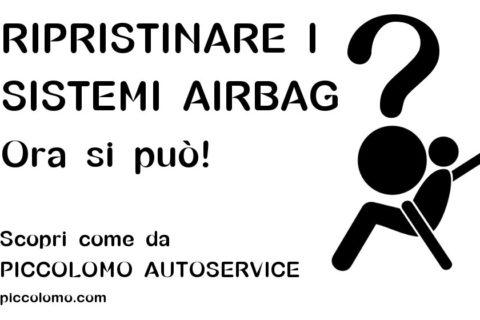 ripristino sistemi airbag